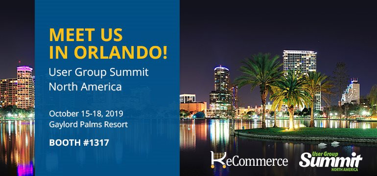 Meet us in Orlando! User Group Summit North America