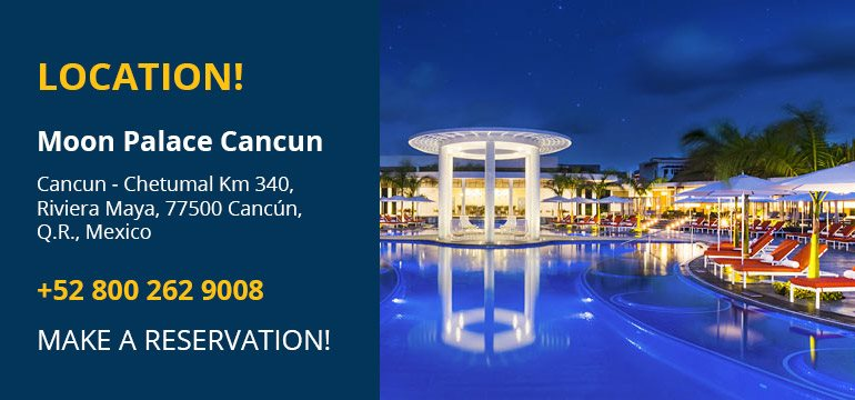 2020 SMB Innovation Summit | Location | Moon Palace Cancun, Mexico