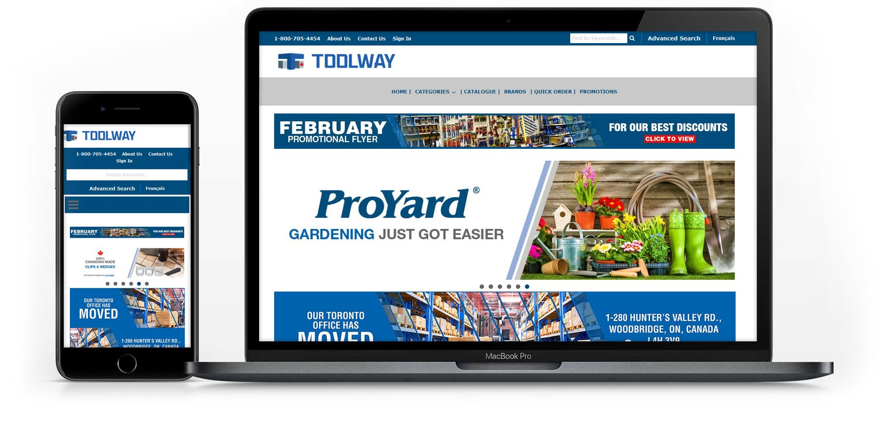 Toolway on devices